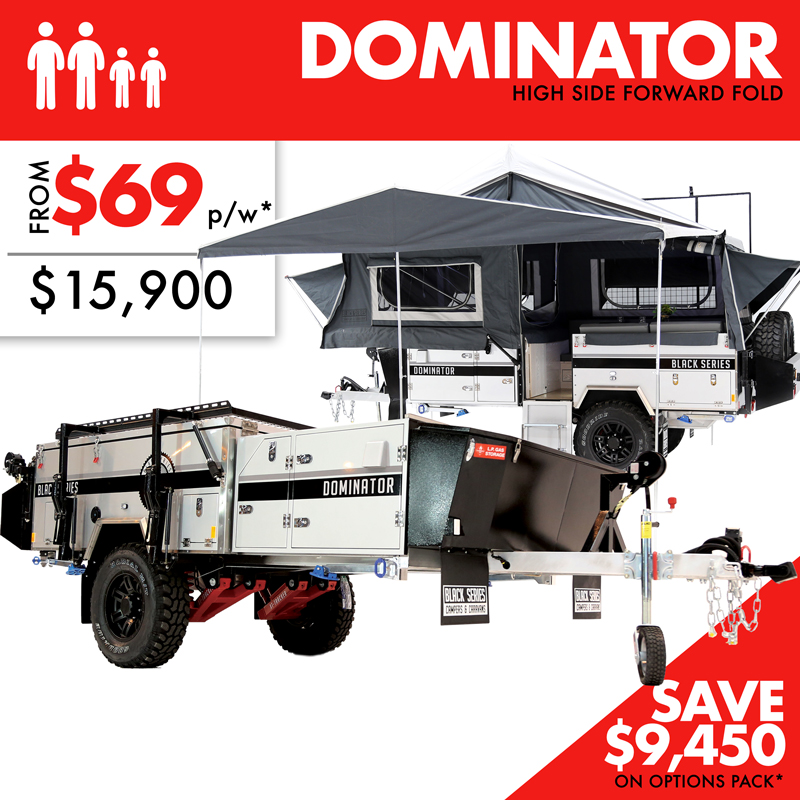 Dominator High Side (Forward Fold)