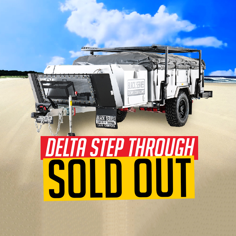 Delta Camper Trailer - Sold out