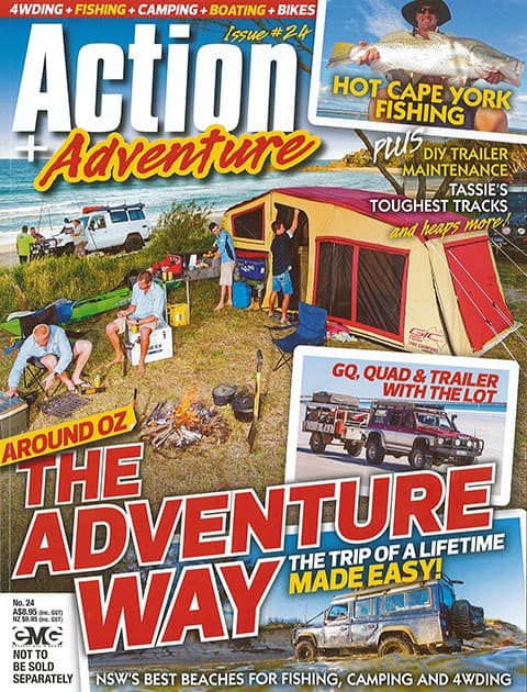 Action Adventure Issue 24
