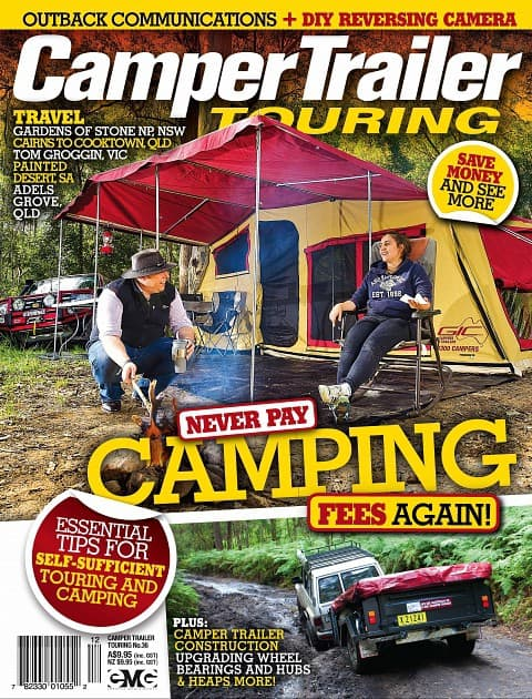 Camper Trailer Touring 36