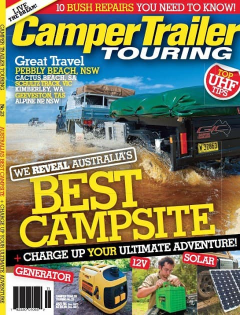 Camper Trailer Touring 23