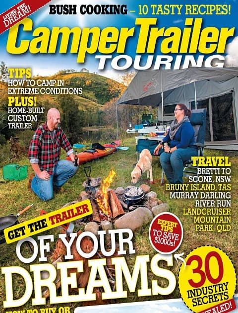 Camper Trailer Touring
