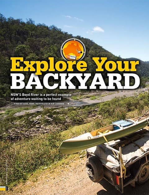 Explore Your Backyard